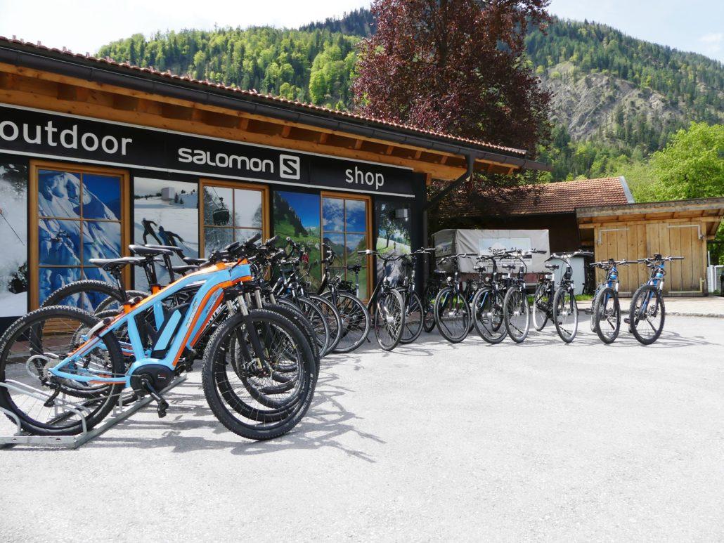 E-Bike Verleih Bayrischzell