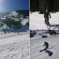 Ist möglicherweise ein Bild von 1 Person, Natur und fährt Ski